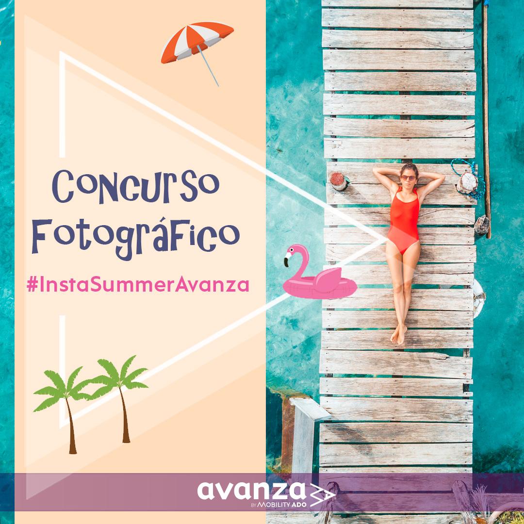 Concurso #InstaSummerAvanza Gana billetes gratis