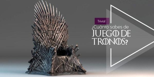 ¿Cuanto sabes de Juego de Tronos?