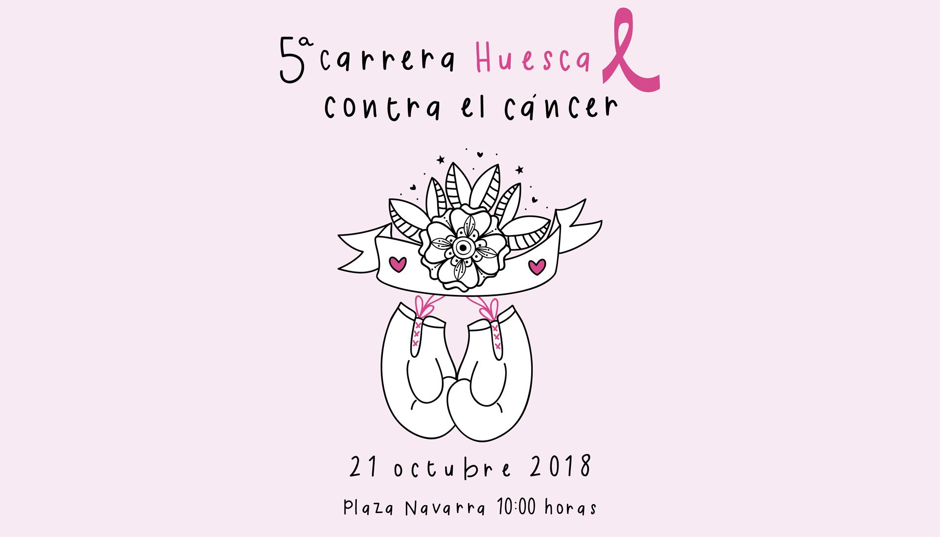 Alosa colabora en la V carrera contra el cáncer en Huesca