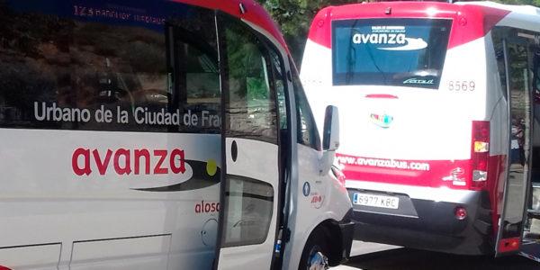 nuevos autobuses fraga
