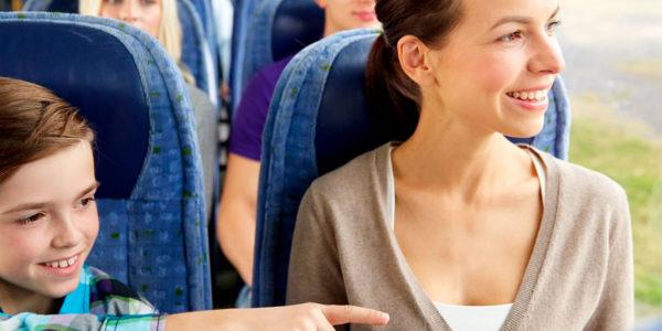 Consejos para viajar con niños y bebés en autobús