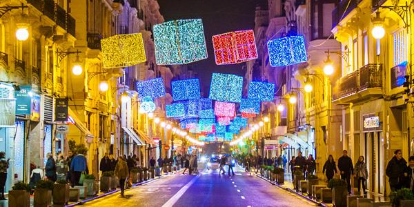 luces navidad Valencia