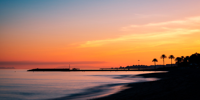 Marbella - Puesta de sol