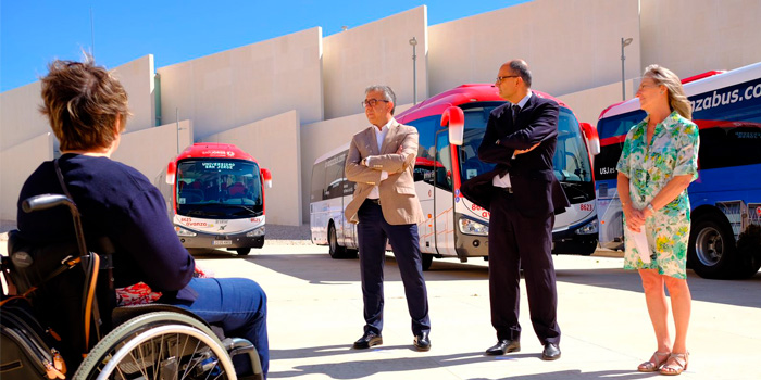 Nuevos autobuses P.M.R