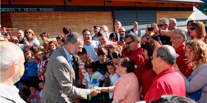 Visita Felipe VI al Parque Nacional de Ordesa