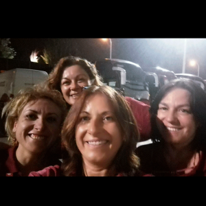 Elena, Belén, Laura y MMar