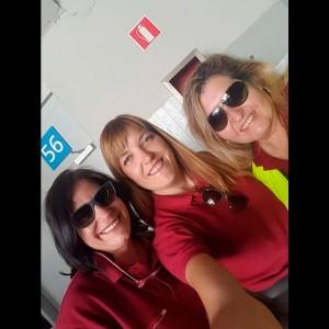 Laura, Mercedes G y Mercedes L