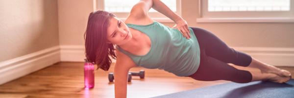 Rutinas de ejercicio para hacer en casa plancha