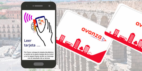 Ya puedes recargar tus bonos Madrid - Segovia en nuestra App