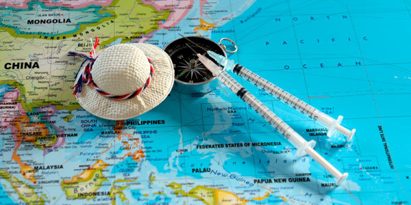 Consejos para viajar seguro vacunas