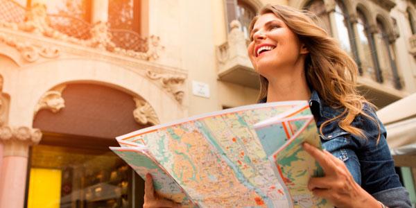 viajar sólo o acompañado