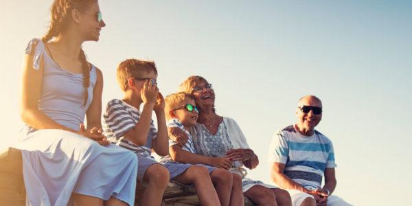 Celebraciones familiares viajando